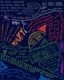 Coldplay Doodle