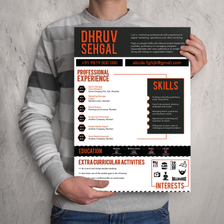 Creative Resumé Design