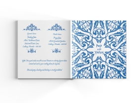 Indian Wedding Invite - Last Page