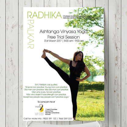 Poster for Yoga Teacher