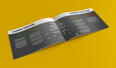 Brochure designed for SVM